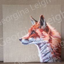 Fox Portrait Art Print